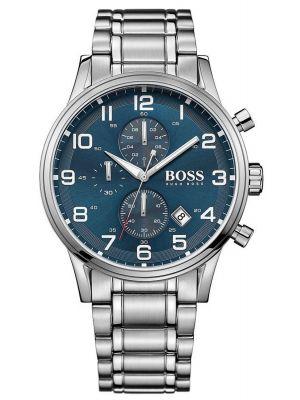 Mens Hugo Boss Aeroliner stainless steel chronograph 1513183 Watch