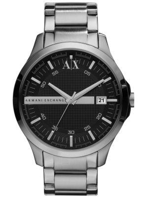 Mens Armani Exchange Hampton black dial AX2103 Watch