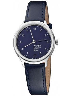 Mens Mondaine Helvetica No.1 swiss quartz MH1.R1240.LD Watch