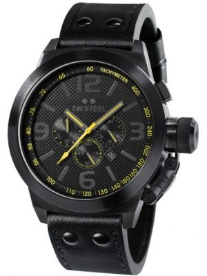 Mens TW Steel Canteen Cool Black Colour TW900 Watch