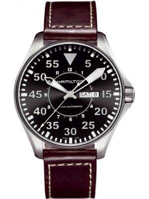Mens Hamilton Khaki Aviation Pilot H64715535 Watch