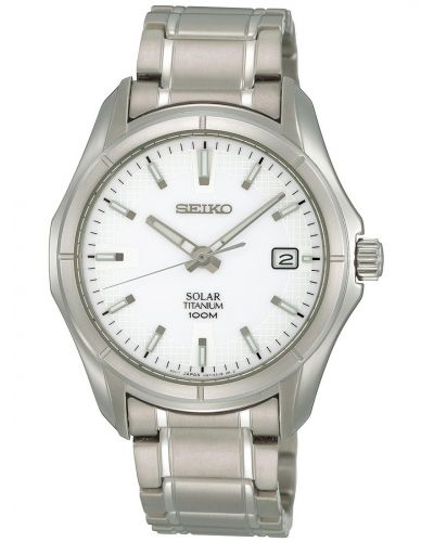 Mens Seiko Solar SNE139P1 Watch