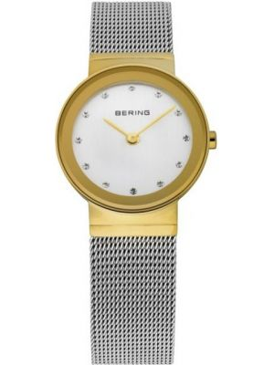 Womens Bering stainless steel gold plated 10126-001 Watch
