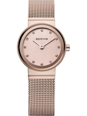 Womens Bering Classic Rose gold milanese strap 10122-366 Watch