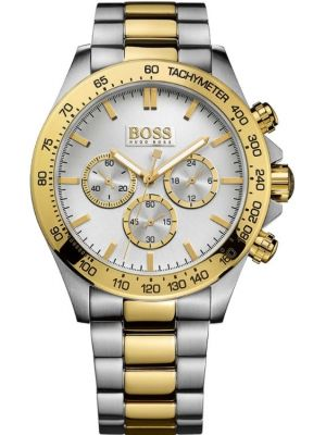 Mens Hugo Boss HB3060 Two Tone Chrono 1512960 Watch