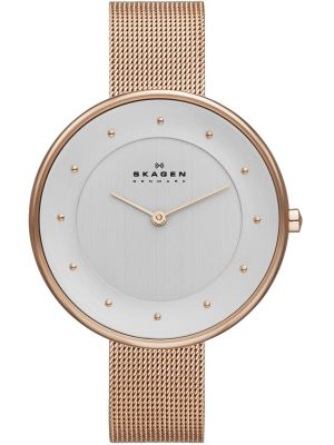Womens Skagen Gitte rose gold plated  SKW2142 Watch