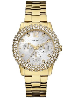 Womens Guess Dazzler Gold W0335L2 Watch