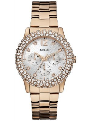 Womens Guess Dazzler Rose w0335l3 Watch