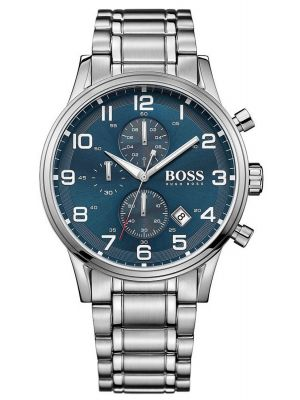Mens Hugo Boss Aeroliner stainless steel chronograph 1513183 Watch