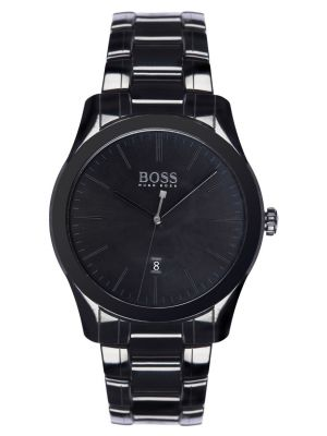 Mens Hugo Boss Ambassador Black ceramic 1513223 Watch