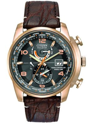 Mens Citizen World Time A-T Limited Edition rose gold AT9013-11E Watch