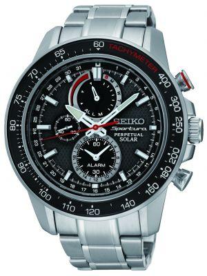 Mens Seiko Sportura perpetual chronograph  SSC357P1 Watch