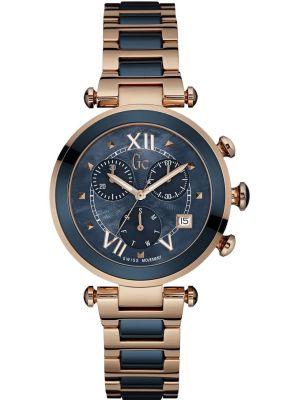 Womens GC Lady Chic rose gold designer chronograph Y05009M7 Watch