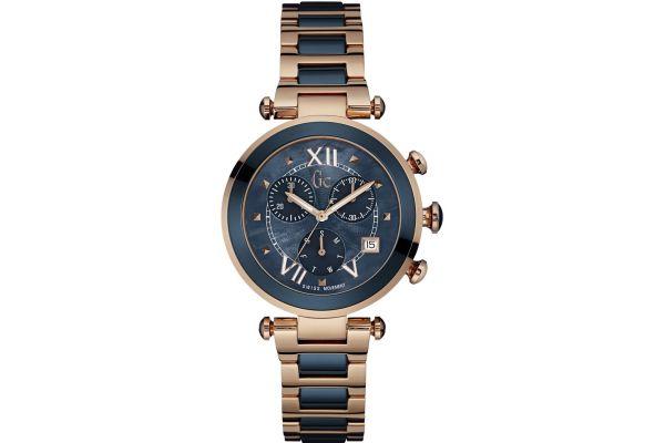 s gc chic gold designer chronograph