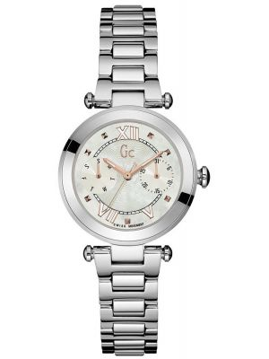 Womens GC Lady Chic polished stainless steel Y06010L1 Watch