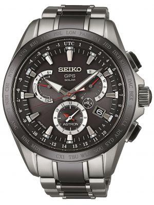 Mens Seiko Astron dual time chrono SSE041J1 Watch