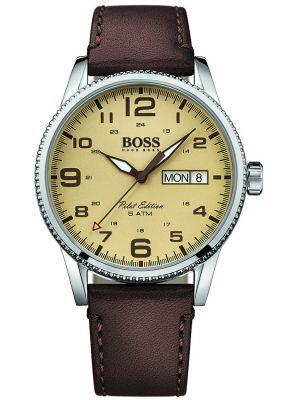 Mens Hugo Boss Pilot Edition quartz movement 1513332 Watch