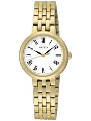 Womens Seiko gold plated SRZ464P1 Watch