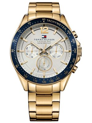 Mens Tommy Hilfiger Luke gold plated 1791121 Watch