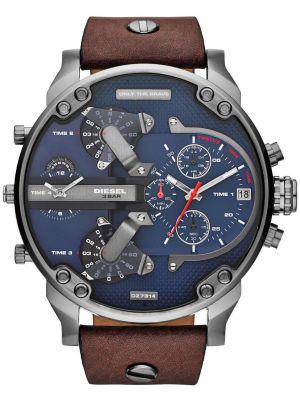 Mens Diesel Mr Daddy gun metal stainless steel DZ7314 Watch