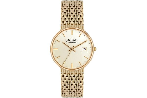 Mens Rotary Precious Metals Watch GB10900/03