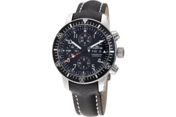Mens Fortis B-42 Official Cosmonauts Watch 638.10.11L