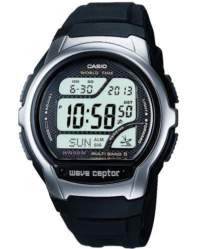 Mens Casio Wave Ceptor Black Multi Band WV-58U-1AVEF Watch