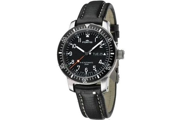 Mens Fortis B-42 Official Cosmonauts Watch 647.10.11L01
