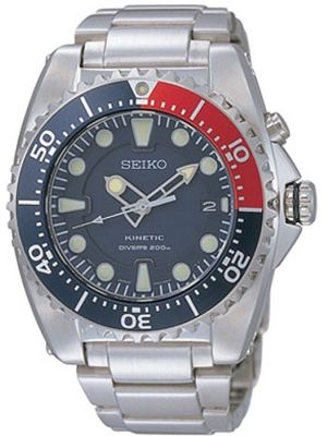 Mens Seiko Kinetic Divers SKA369P1 Watch