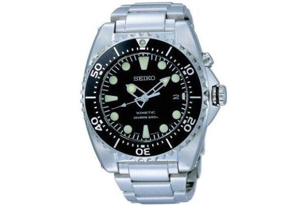 Mens Seiko Kinetic Watch SKA371P1