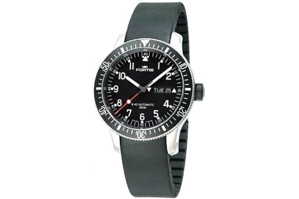 Mens Fortis B-42 Official Cosmonauts Watch 647.10.11 K