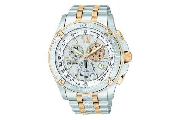 Mens Citizen Perpetual Calendar Watch BL5376-55A