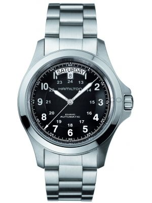 Mens Hamilton Khaki Field King Automatic H64455133 Watch