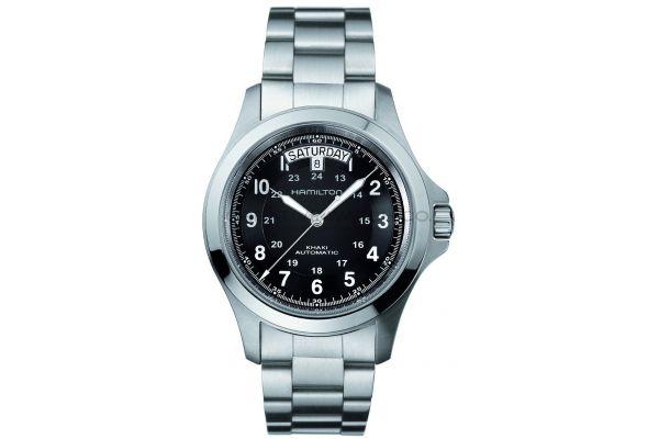 Mens Hamilton Khaki Field Watch H64455133