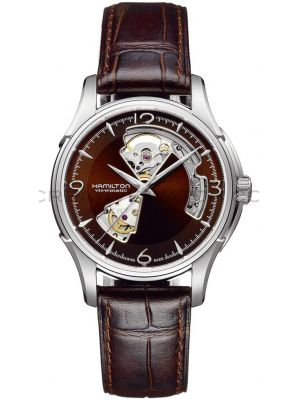 Mens Hamilton American Classic Jazzmaster Viewmatic Open Heart H32565595 Watch