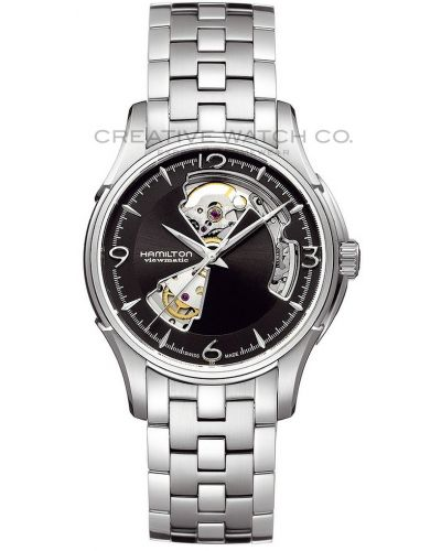 Mens Hamilton American Classic Jazzmaster Viewmatic Open Heart H32565135 Watch