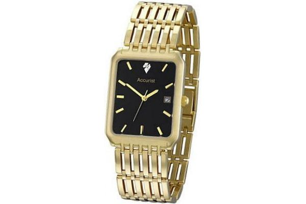 Mens Accurist Precious Metals Watch GD1462