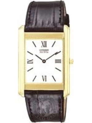 Mens Citizen Stiletto Solid 18ct Gold Strap AR1023-05A Watch
