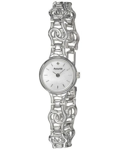 Womens Accurist Precious Metals 9ct White Gold GD1668 Watch