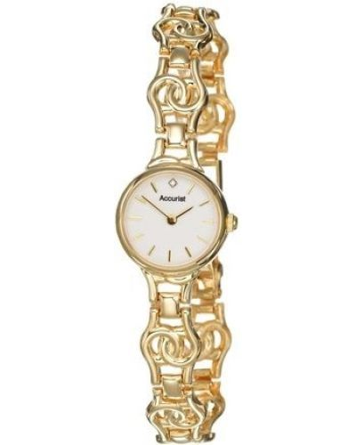 Womens Accurist Precious Metals 9ct Gold GD1667 Watch