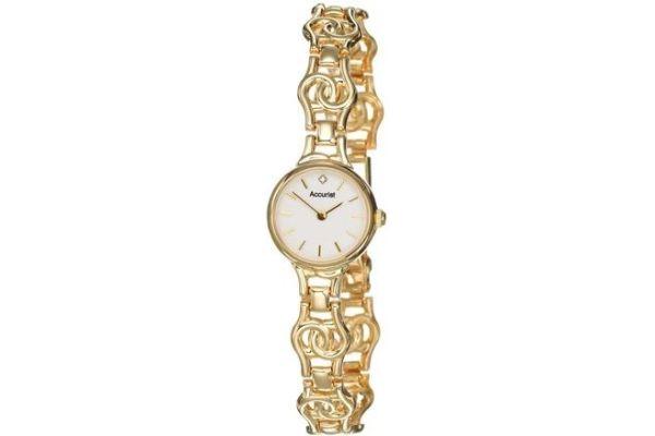 Womens Accurist Precious Metals Watch GD1667