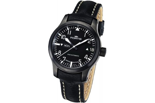 Mens Fortis B-42 Flieger Watch 655.18.81L