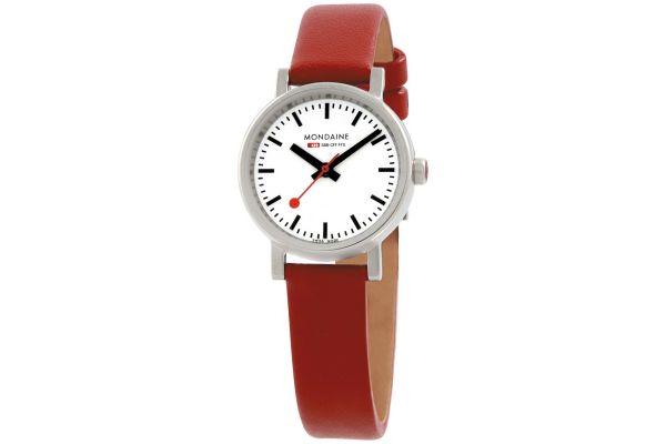 Womens Mondaine Evo petite Watch A658.30301.11SBC