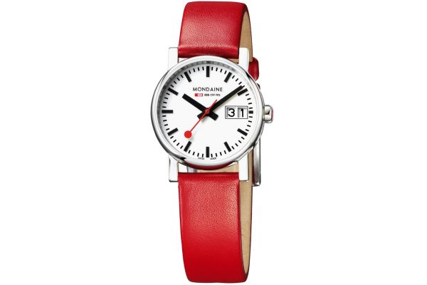 Womens Mondaine Evo Watch A669.30305.11SBC