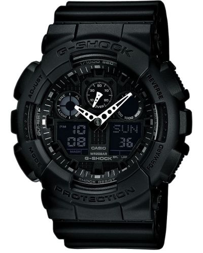 Mens Casio G Shock GA-100-1A1ER Watch