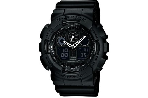 Mens Casio  G Shock Watch GA-100-1A1ER