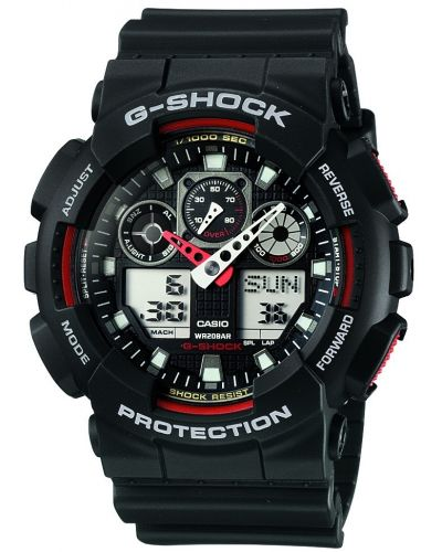 Mens Casio G Shock GA-100-1A4ER Watch