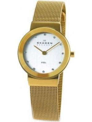 Womens Skagen Freja crystal set milanese strap 358SGGD Watch