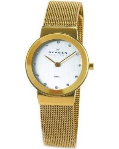 Womens Skagen Freja crystal set milanese strap 358SGGD Watch