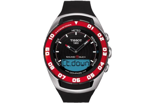Mens Tissot T Touch Watch T056.420.27.051.00